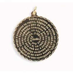Medalla grande Padre Nuestro